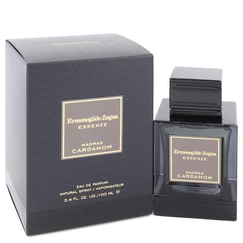 Madras Cardamom by Ermenegildo Zegna Eau De Parfum Spray 3.4 oz for Men