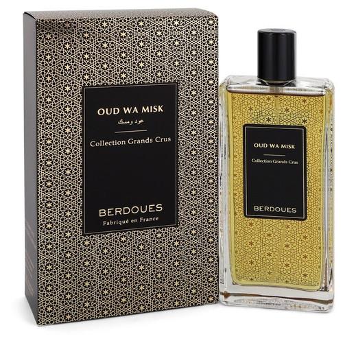 Oud Wa Misk by Berdoues Eau De Parfum Spray (Unisex) 3.38 oz for Men