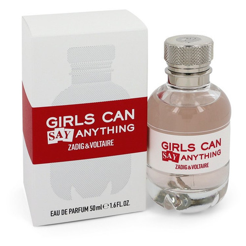 Girls Can Say Anything by Zadig & Voltaire Eau De Parfum Spray 1.6 oz for Women