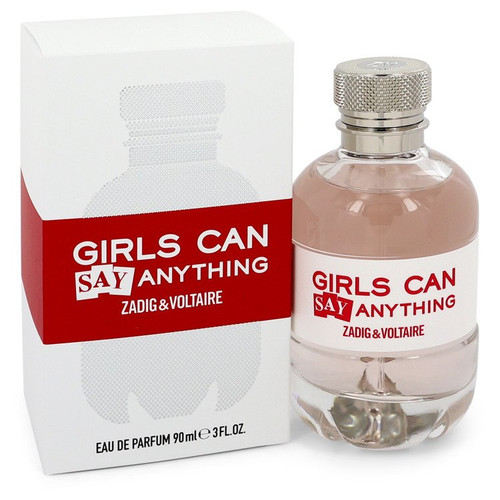 Girls Can Say Anything by Zadig & Voltaire Eau De Parfum Spray 3 oz for Women
