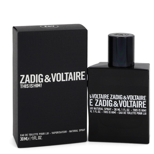 This is Him by Zadig & Voltaire Eau De Toilette Spray 1 oz for Men