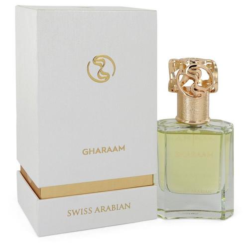 Swiss Arabian Gharaam by Swiss Arabian Eau De Parfum Spray (Unisex) 1.7 oz for Men