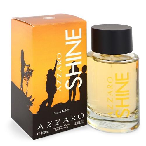 Azzaro Shine by Azzaro Eau De Toilette Spray 3.4 oz for Men