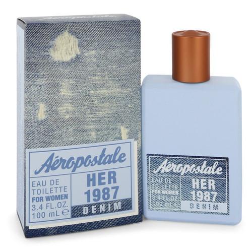 Aeropostale Her 1987 Denim by Aeropostale Eau De Toilette Spray 3.4 oz for Women