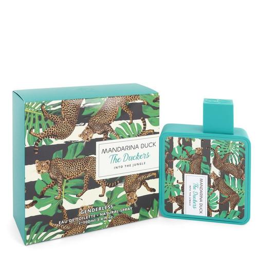 Into The Jungle by Mandarina Duck Eau De Toilette Spray (Unisex) 3.4 oz for Women