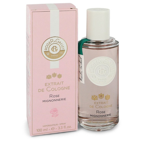 Roger & Gallet Rose Mignonnerie by Roger & Gallet Extrait De Cologne Spray 3.3 oz for Women