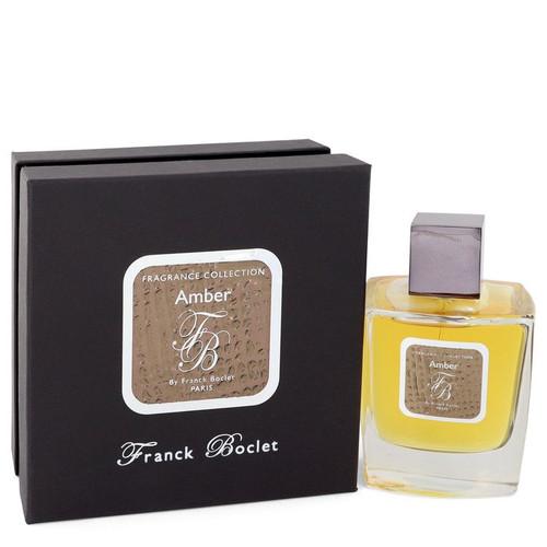 Franck Boclet Amber by Franck Boclet Eau De Parfum Spray (Unisex) 3.4 oz for Men