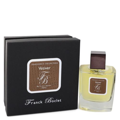 Franck Boclet Vetiver by Franck Boclet Eau De Parfum Spray (Unisex) 3.3 oz for Women