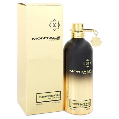 Montale Vetiver Patchouli by Montale Eau De Parfum Spray (Unisex) 3.4 oz for Women