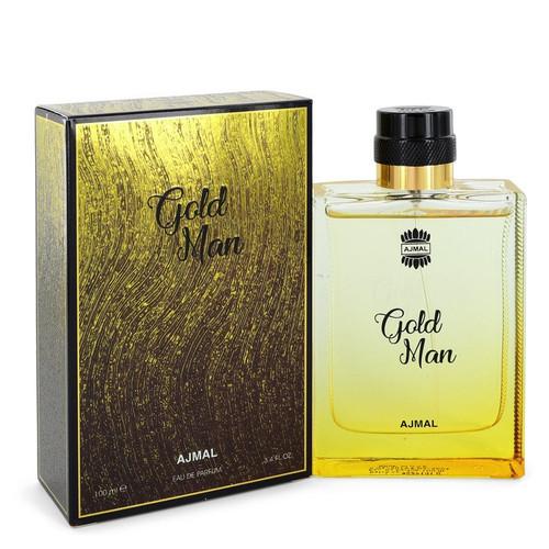 Ajmal Gold by Ajmal Eau De Parfum Spray 3.4 oz for Men