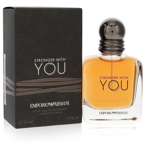 Stronger With You by Giorgio Armani Eau De Toilette Spray 1.7 oz for Men