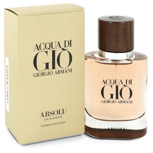 Acqua Di Gio Absolu by Giorgio Armani Eau De Parfum Spray 1.35 oz for Men
