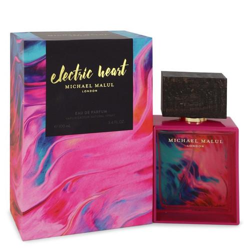 Electric Heart by Michael Malul Eau De Parfum Spray 3.4 oz for Women