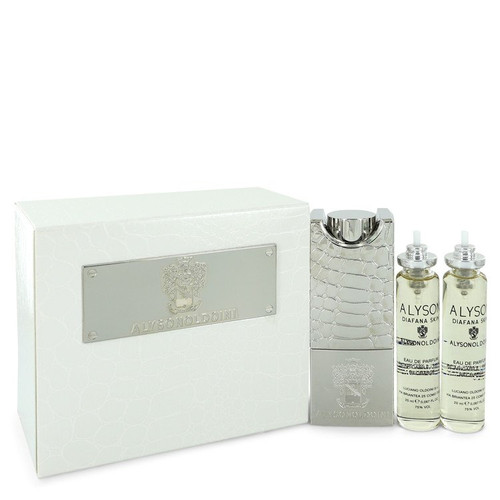 Diafana Skin by Alyson Oldoini  Eau De Parfum Refillable Spray Includes 3 x 20ml Refills and Refillable Atomizer 2 oz for Women