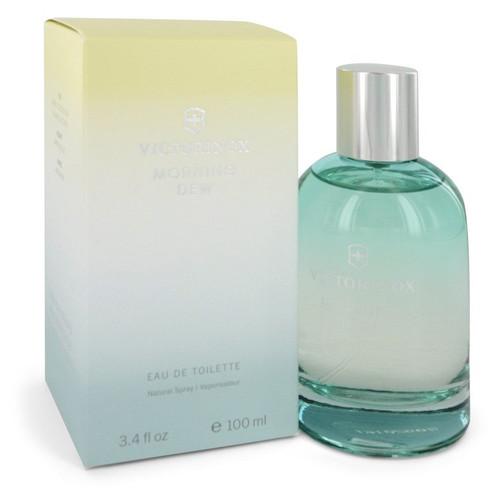 Swiss Army Morning Dew by Victorinox Eau De Toilette Spray 3.4 oz for Women