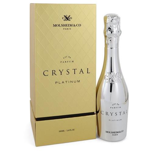 Crystal Platinum by Molsheim & Co Eau De Parfum Spray 3.4 oz for Women