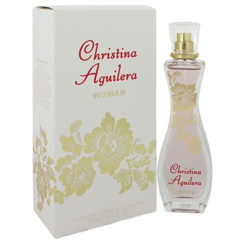 Christina Aguilera Woman by Christina Aguilera Eau De Parfum Spray 2.5 oz for Women