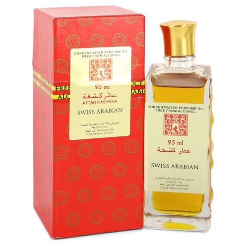 Attar Kashkha by Swiss Arabian Concentrated Perfume Oil Free From Alcohol (Unisex) 3.2 oz for Women