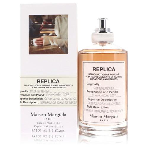 Replica Coffee Break by Maison Margiela Eau De Toilette Spray (Unisex) 3.4 oz for Women