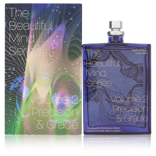 Volume 2 Precision & Grace by The Beautiful Mind Series Eau De Toilette Spray (Unisex) 3.5 oz for Women