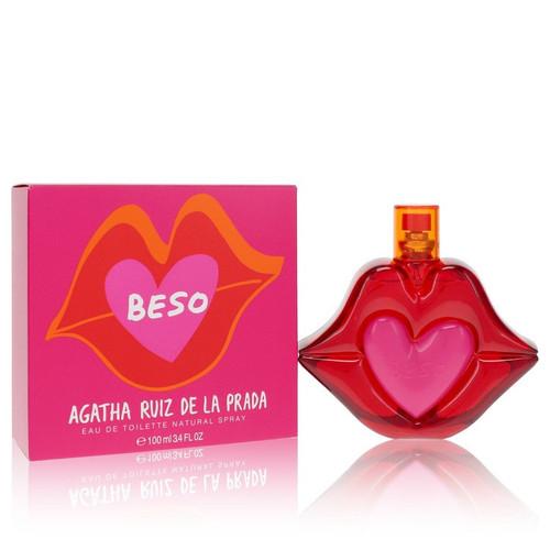 Agatha Ruiz De La Prada Beso by Agatha Ruiz De La Prada Eau De Toilette Spray 3.4 oz for Women