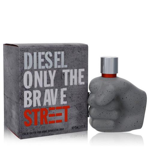 Only the Brave Street by Diesel Eau De Toilette Spray 2.5 oz for Men