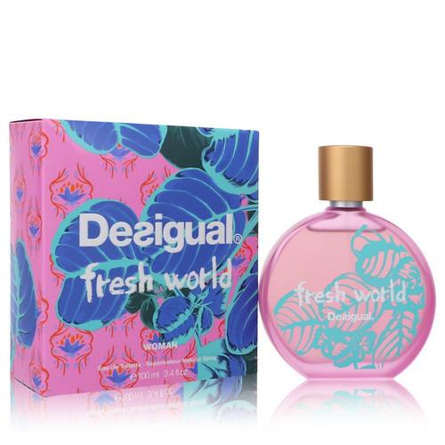 Desigual Fresh World by Desigual Eau De Toilette Spray 3.4 oz for Women
