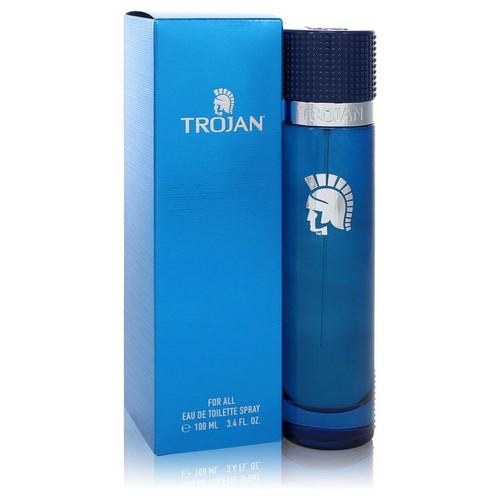 Trojan For All by Trojan Eau De Toilette Spray (Unisex) 3.4 oz for Men