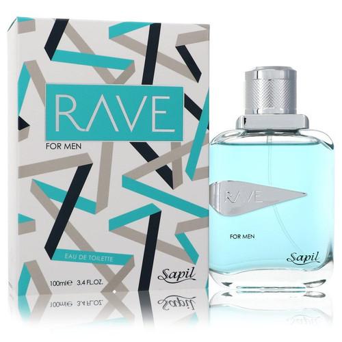 Sapil Rave by Sapil Eau De Toilette Spray 3.4 oz for Men