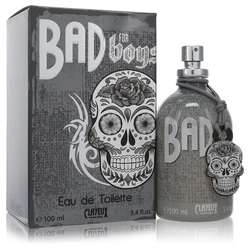 Bad for Boys by Clayeux Eau De Toilette Spray 3.4 oz for Men