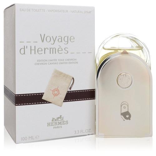Voyage D'Hermes by Hermes Eau De Toilette Spray with Pouch (Unisex) 3.3 oz for Women
