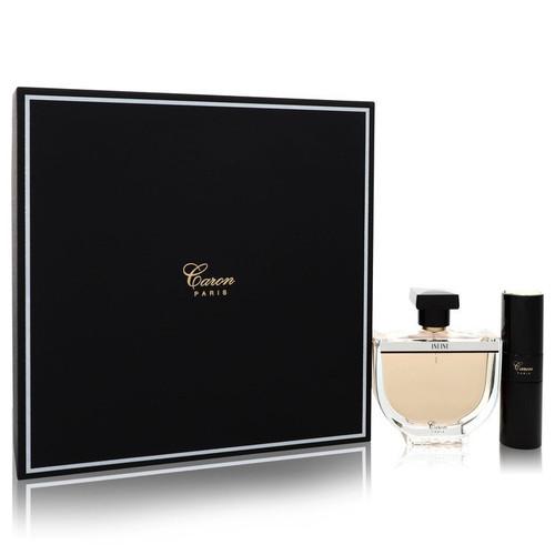 INFINI by Caron Gift Set -- 3.3 oz Eau De Parfum Spray + 0.5 oz Min EDP Spray for Women