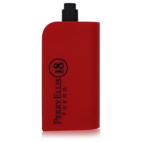 Perry Ellis 18 Fuego by Perry Ellis Eau De Toilette Spray (Tester) 3.4 oz for Men