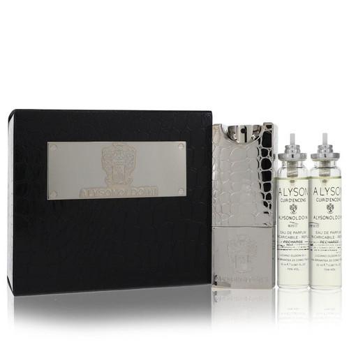 Cuir D'encens by Alyson Oldoini Gift Set -- 3 x 2.0 oz Esprit de Parfum Sprays for Men