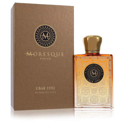 Moresque Ubar 1992 Secret Collection by Moresque Eau De Parfum Spray (Unisex) 2.5 oz for Men