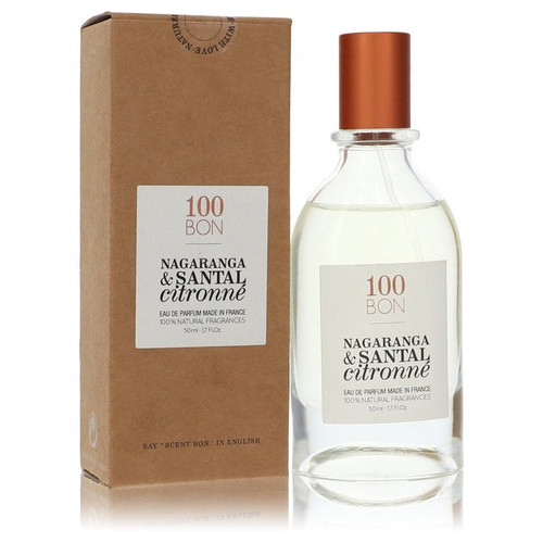 100 Bon Nagaranga & Santal Citronne by 100 Bon Eau De Parfum Spray (Unisex Refillable) 1.7 oz for Men