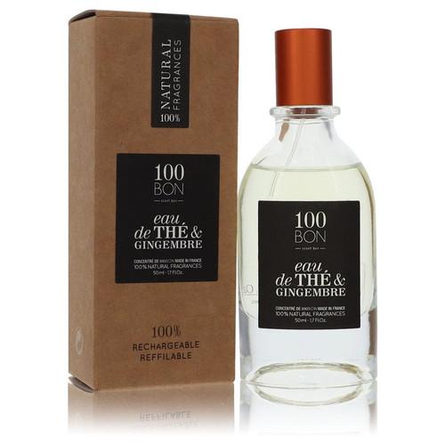 100 Bon Eau De The & Gingembre by 100 Bon Concentree De Parfum Spray (Unisex Refillable) 1.7 oz for Men