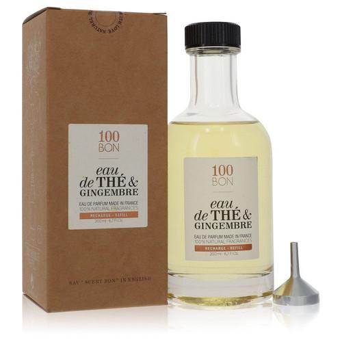 100 Bon Eau De The & Gingembre by 100 Bon Eau De Parfum Refill (Unisex) 6.7 oz for Men