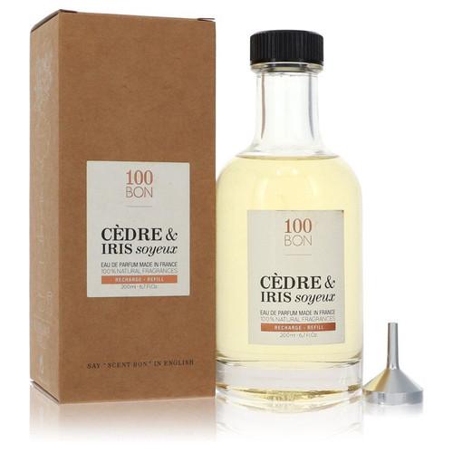 100 Bon Cedre & Iris Soyeux by 100 Bon Eau De Parfum Refill (Unisex)  6.7 oz for Men