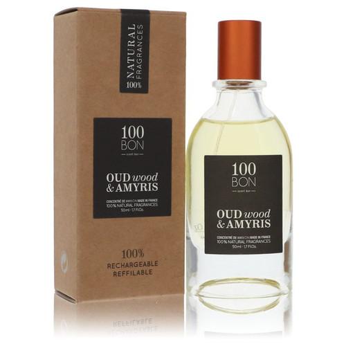 100 Bon Oud Wood & Amyris by 100 Bon Concentree De Parfum Spray (Unisex Refillable) 1.7 oz for Men