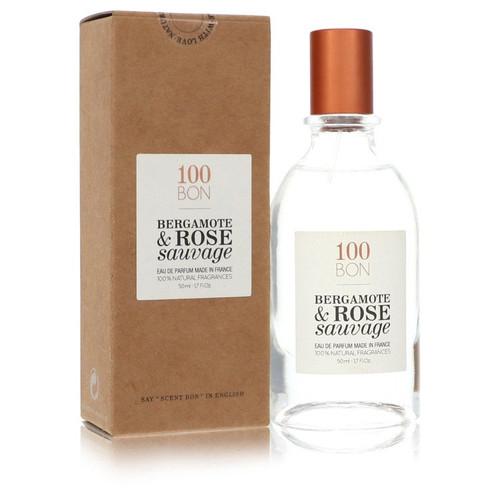 100 Bon Bergamote & Rose Sauvage by 100 Bon Concentree De Parfum Spray (Unisex Refillable) 1.7 oz for Men
