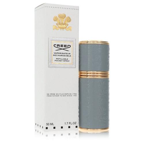 Refillable Pocket Spray by Creed Refillable Perfume Atomizer (Grey Unisex) 1.7 oz for Men