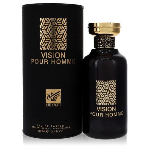 Rihanah Vision Pour Homme by Rihanah Eau De Parfum Spray 3.4 oz for Men