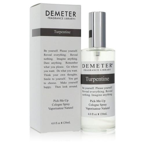 Demeter Turpentine by Demeter Cologne Spray (Unisex) 4 oz for Men
