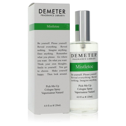 Demeter Mistletoe by Demeter Cologne Spray (Unisex) 4 oz for Men