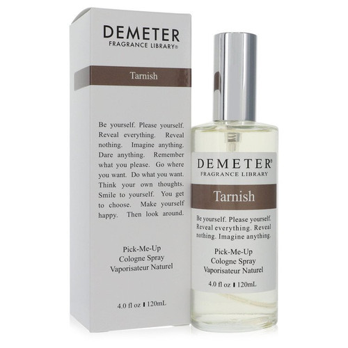 Demeter Tarnish by Demeter Cologne Spray (Unisex) 4 oz for Men