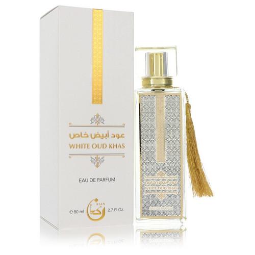 White Oud Khas by Kian Eau De Parfum Spray (Unisex) 2.7 oz for Women