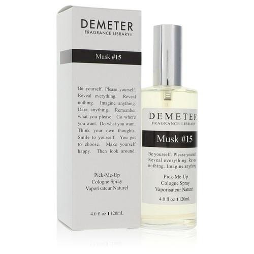 Demeter Musk #15 by Demeter Cologne Spray (Unisex) 4 oz for Men