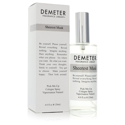 Demeter Sheerest Musk by Demeter Cologne Spray (Unisex) 4 oz for Women