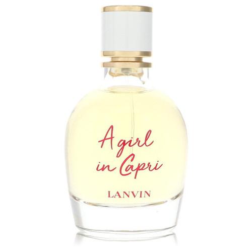 A Girl in Capri by Lanvin Eau De Parfum Spray (Tester) 3 oz for Women